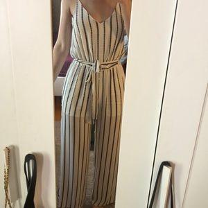 Full length cut out jumpsuit